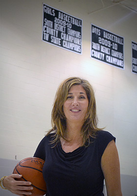 Coach of the 2009-10 State Championship Girls Team, Coach Gardner